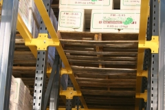 Drive-In Rack View – Structural Rails