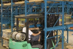 Heavy Coil Storage On Drive-In Rack