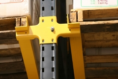 Structural Rails for Drive-In Rack System