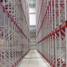 ASRS System Structural Rack Aisle
