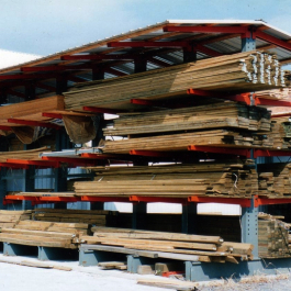 Lumber Storage Cantilever Outdoor