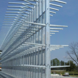 Galvanized Cantilever Rack For Outdoor