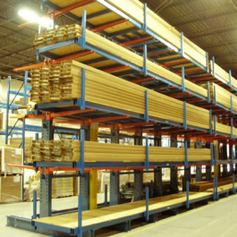 Cantilever Rack Lumber Product Stop