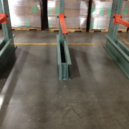 Standard Cantilever Rack Welded Base