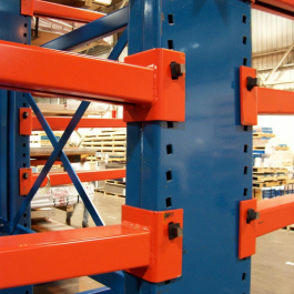 Cantilever Rack Upright Wedge Connector