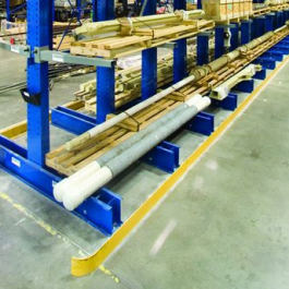Cantilever Rack Welded Base