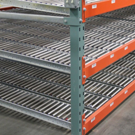 RhinoTrac Carton Flow - 4×3 T-Bolt Racks