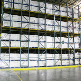 10 Pallets Deep Drive-In Racking