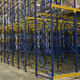 Pallet Flow Rack Deep Lane System