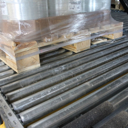 Full Width Pallet Support For All Pallets