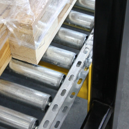 Wide Roller Pallet Flow Support