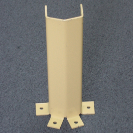 Anchored Column Protector for Pallet Racking