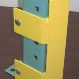 Bolt-on Structural Angle Bumper Column Protector for Pallet Rack