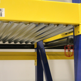 Pallet Rack Metal Fire Baffle Application