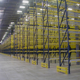 End of Aisle Guards-Selective Pallet Rack