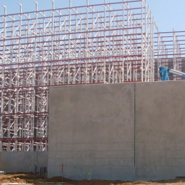 Pallet Rack Supported Building Construction