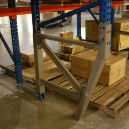 Welded Option Pallet Rack Repair