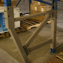Pallet Rack Repair Welded Version