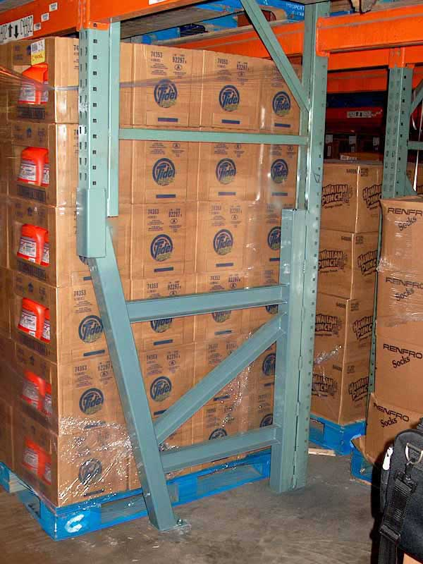 View Photos Of Pallet Rack Repair Installations On
