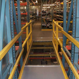 Pick Module Catwalk with Rail System