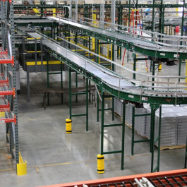 Distribution Center Pallet Rack Integration