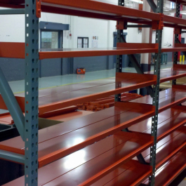 L-Rail Metal Decking Shelf Support