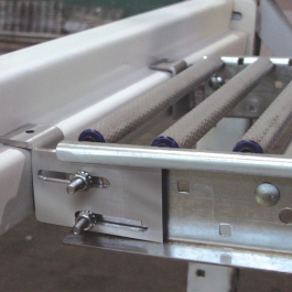 RhinoTrac Bracket Side View with Adjustable Length