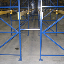 Structural Interchangeable Pallet Rack – Hybrid Rack