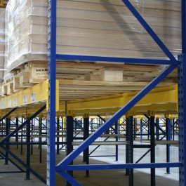 Roll-Formed Pallet Rack Beams Structural Upright