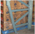 Sloped Leg Pallet Rack Uprights