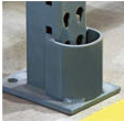 Straddle Protectors for Pallet Rack Uprights