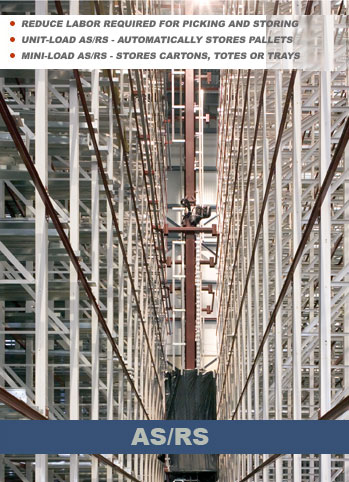Unit Load AS/RS Systems can be as high as 100 feet and store and retrieve pallet loads with large computerized cranes. Rapid access with barely any labor creates an efficient and accurate system operations.