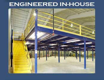 Engineered storage mezzanine systems for Steel mezzanine design