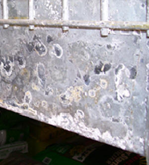 First Stages – Galvanized Corrosion