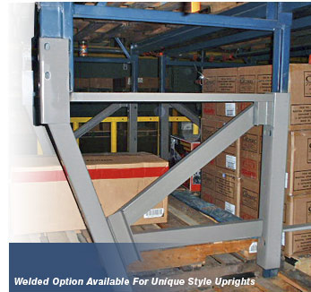 Pallet Rack Rack Repair Sloped Leg