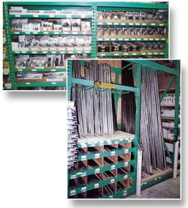 Retail Pallet Rack Fixture - Bay Utilization