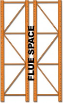 Flue Space Unarco Pallet Rack And Warehouse Storage Systems