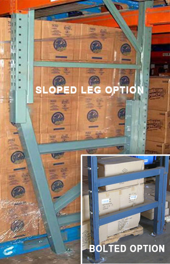 Pallet Rack Repair Sloped Leg Repair Kit