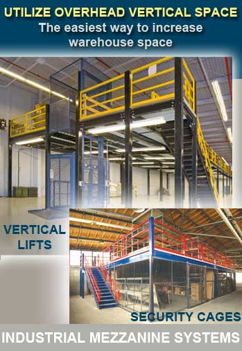 Steel Mezzanine Applications