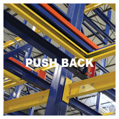 Push Back Rack