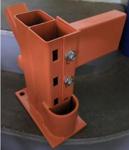 Straddle Protector Double Column Upright