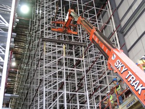 ASRS System Erection