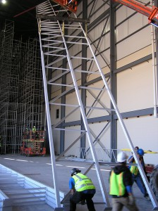 ASRS System Upright Erection