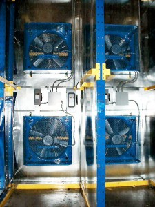 Drive-In Rack System with Blast Fan for Freezer Appliacation