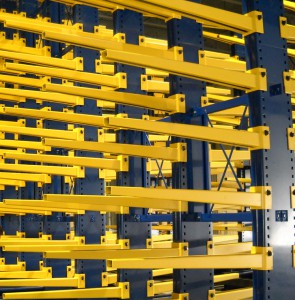 Rubber Gasket Key Wedge Cantilever Rack Connection