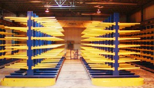 Double-Sided Cantilever Rack
