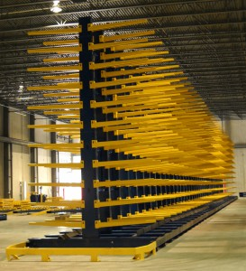 Double-Sided Cantilever Rack Multi-Level