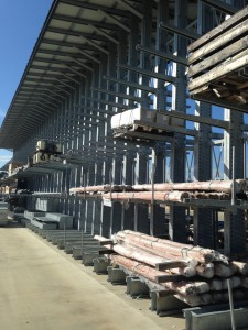 Lumber Storage Galvanized