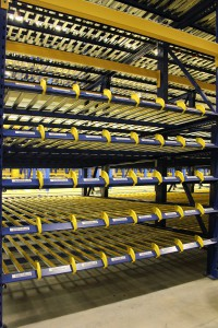 Carton Flow Rack Lane Dividers EZ Slotter