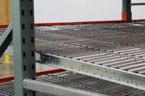 RhinoTrac Carton Flow Rack Sloped Lanes